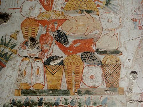 grabmalerei im alten ägypten